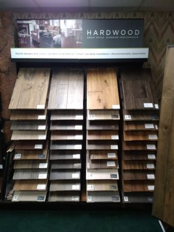 Do you like the look of hardwood? We have so many options just for you!