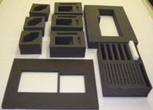 We offer custom cut foam for all your storage and packaging needs.