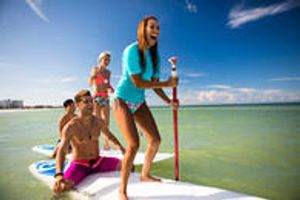 Stand Up Paddleboarding at RumFish Beach Resort by TradeWinds