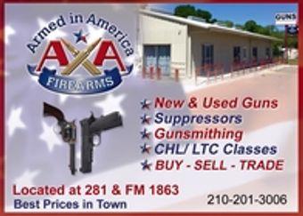 Armed in America Firearms Store