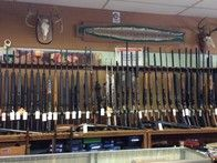 We have a large selection of guns.