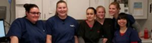 The experienced and caring team of VCA Forest South Animal Hospital!