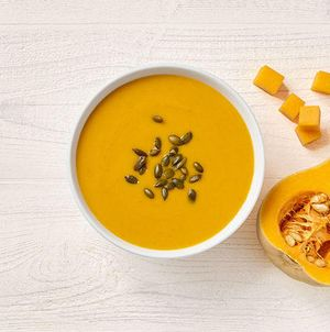It's Back! Vegetarian Autumn Squash Soup