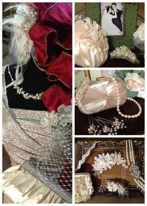 Browse our bridal accessories.