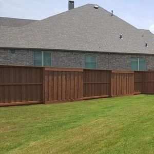 Beautiful Privacy Fence Installation