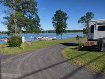 RV Campground and Marina on South Hero, Keeler Bay Vermont