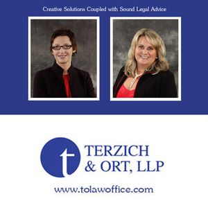 At Terzich & Ort LLP, our attorneys carry years of experience into every legal solution. Our team places a high priority on personal attention, providing prompt and courteous service at reasonable rates.
