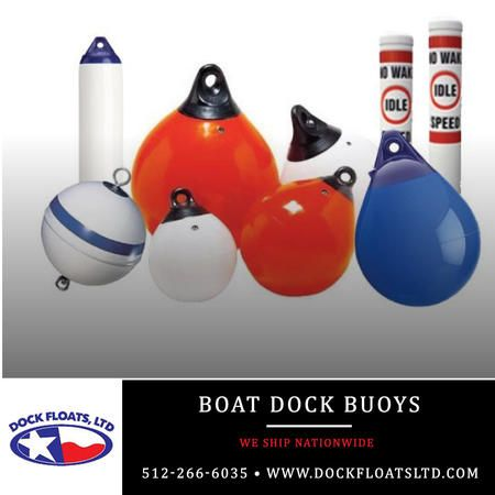 Boat Dock Buoys Austin, Texas. Contact Dock Floats Ltd in Austin for your FREE phone consultation: 512-266-6035