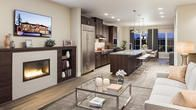 Open floor plans are ideal for entertaining friends and family.