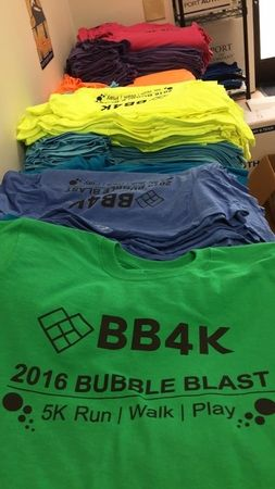 Custom made shirts for your organization!