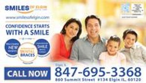 Smiles of Elgin Orthodontics and General Dentistry Dental Savings Summary 2018 Side 1