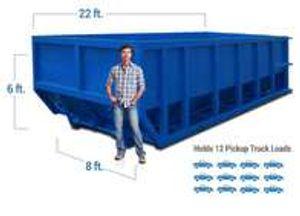 30 cubic yard dumpster