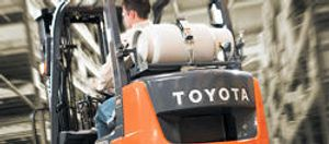 Toyota offers the largest and most dependable forklift line in the industry and we are proud to offer those same products to you!