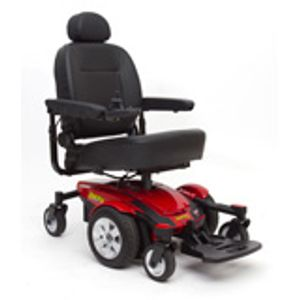 The Pride Jazzy Electric Wheelchair motorized power wheel chair.