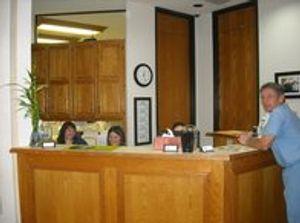 Reception at VCA Capital Area Veterinary Specialists