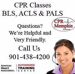 American Heart Association CPR, BLS, ACLS and PALS classes.