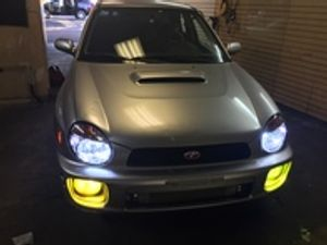 hid and led yellows, 6,000k 8,000k white,