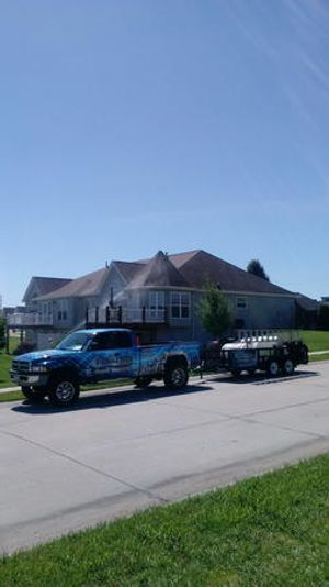 Residential power washing services in Ballwin, MO.