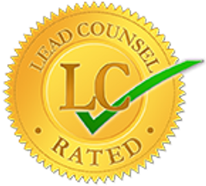 APEX Disability's Steven earl is proud to be Lead Counsel Rated