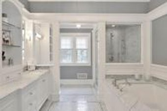 Update your master bathroom with Creative Stone of Fayetteville.