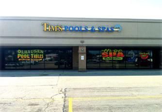 Our Hot Tub & Home Spa Tub Store Located at 1065 Reading Rd in Mason, OH
