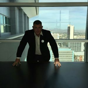 Paul Caruso at the Las Vegas Regional Justice Center 17 floor.  Call Express Bail Bonds (702) 633-2245 for friendly fast service!