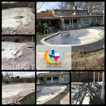Looking to breathe some new life into your old swimming pool? We offer swimming pool remodeling services for the San Antonio, TX area! Contact us today to get scheduled for your pool service!