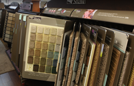 Great selection of carpet to choose from.