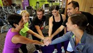 Anytime Fitness team