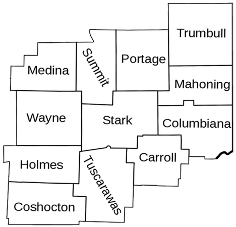 We build in these areas: Canton / Akron Alliance / Louisville Massillon / Jackson Medina / Wooster Canal Fulton / Uniontown Barberton / Green