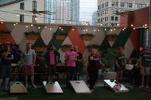 Austin Airmail Cornhole provides a great way for you and your friends to compete in a cornhole league and have fun!