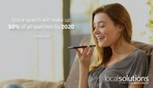 Voice search will make up 50% of all searches by 2020. (comScore)