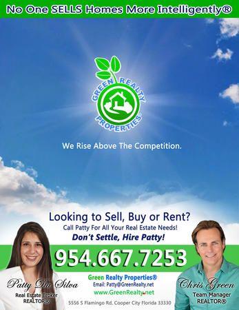 Patty Da Silva SELLS Homes - Green Realty Properties