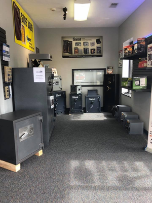 We are the trusted local locksmith with over 15 years of experience in lock repair, as well as key duplication, key programming, broken key extraction. safe and vault repair,  and more!  Stop by our showroom for expert service and advice as well as having a wide selection of in stock and special order safes and vaults!