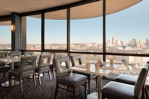 Eighteen is a revolving restaurant offering unique views of Cincinnati and Covington.