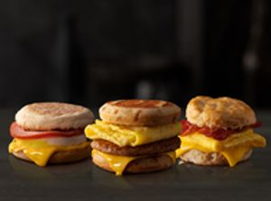 McDonald's All Day Breakfast Sandwiches
