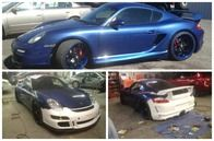 Porsche before and after photos.