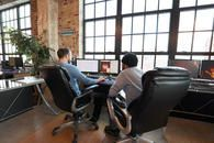 The interior of Web Design and Company, a St Louis web development company.