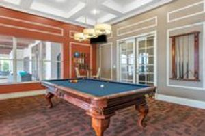 Resident Clubhouse Pool Table
