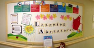Learning Adventures Board