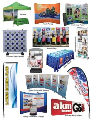Do you have an Event or Convention Tomorrow?  Don't Worry  Irvine Printing does all these in House very Fast . FASTER THAN ANYONE