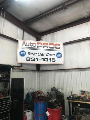 ASE certified mechanics means your car is in good hands for any repair it will need.