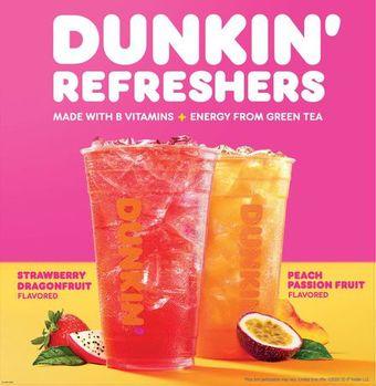 Dunkin' Refreshers