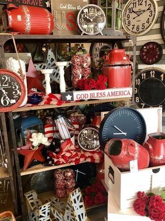Do your love Americana decor? Come see us!