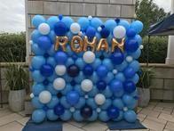 Ballons make the perfect backdrop!