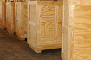Commercial industrial expert crating solutions.