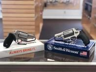 It's Rattlesnake Season. How prepared are you? We have here the Taurus Judge and a Smith & Wesson Governor. Both of these firearms are capable of firing both 45LC & 410 Gauge Shot Shells.