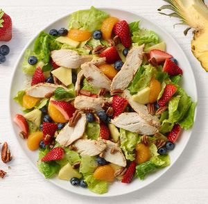 It's back! Strawberry Poppyseed Salad with Chicken