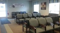 The waiting room at our clinic