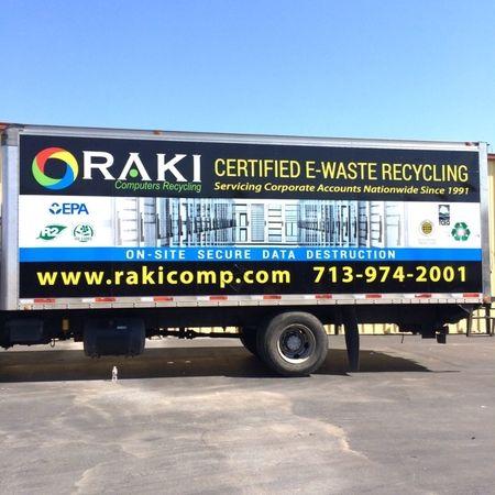 RAKI Computers new trucks coming to a business near you.